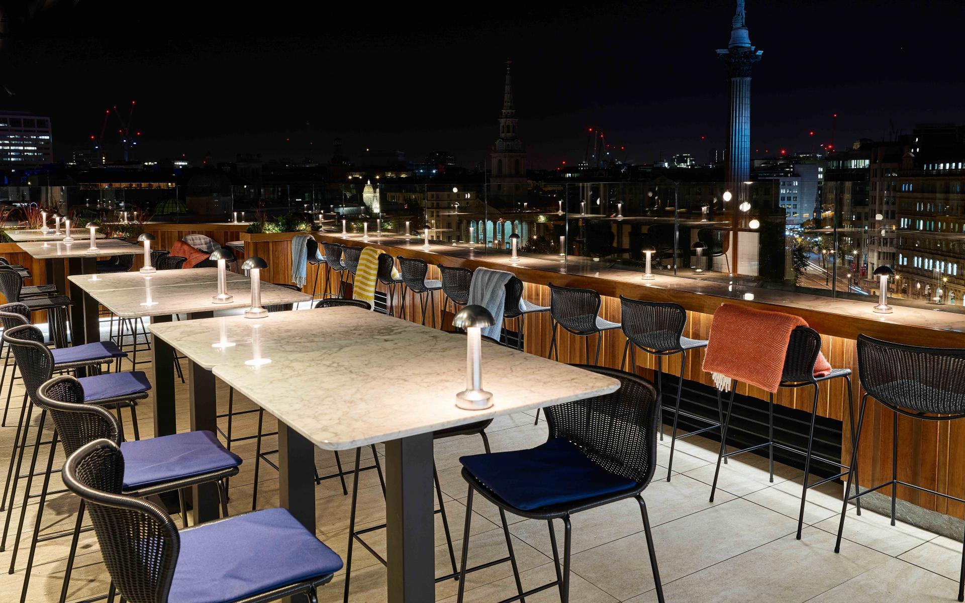 Trafalgar St. James Rooftop Bar