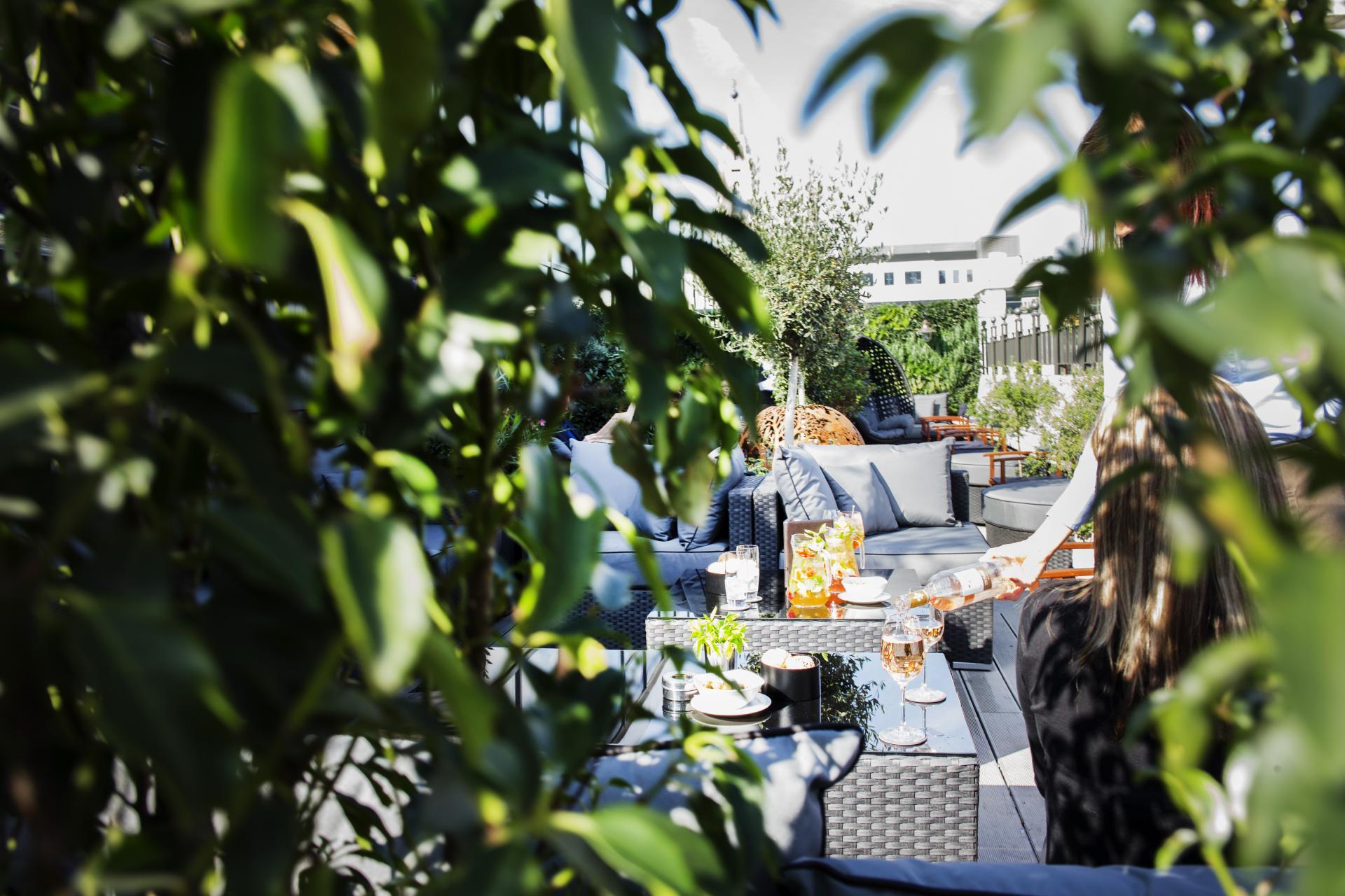 Eight Members Club Rooftop Bar