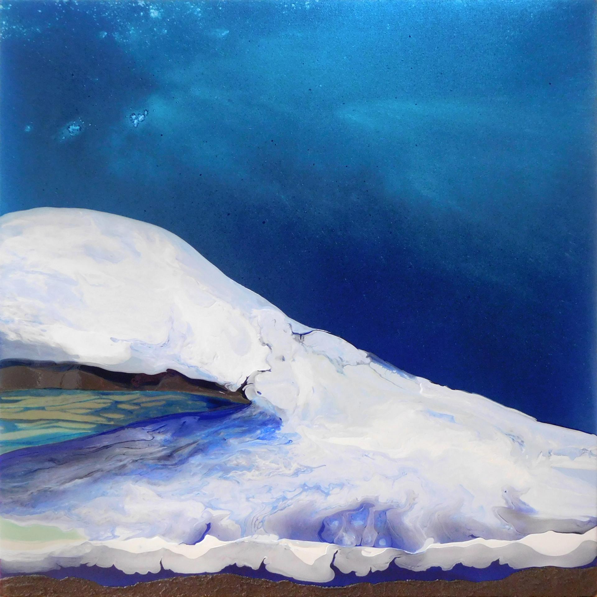 Mint Arts, Laura Fishman, Glacier Blue