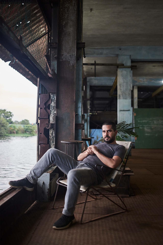 Artist and studio owner Wilfredo Prieto