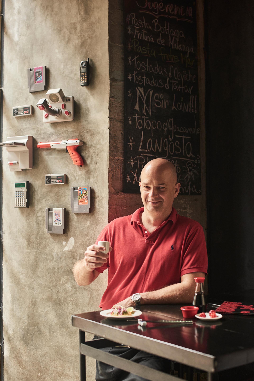 Carlos Alonso Acosta, owner of Jama restaurant