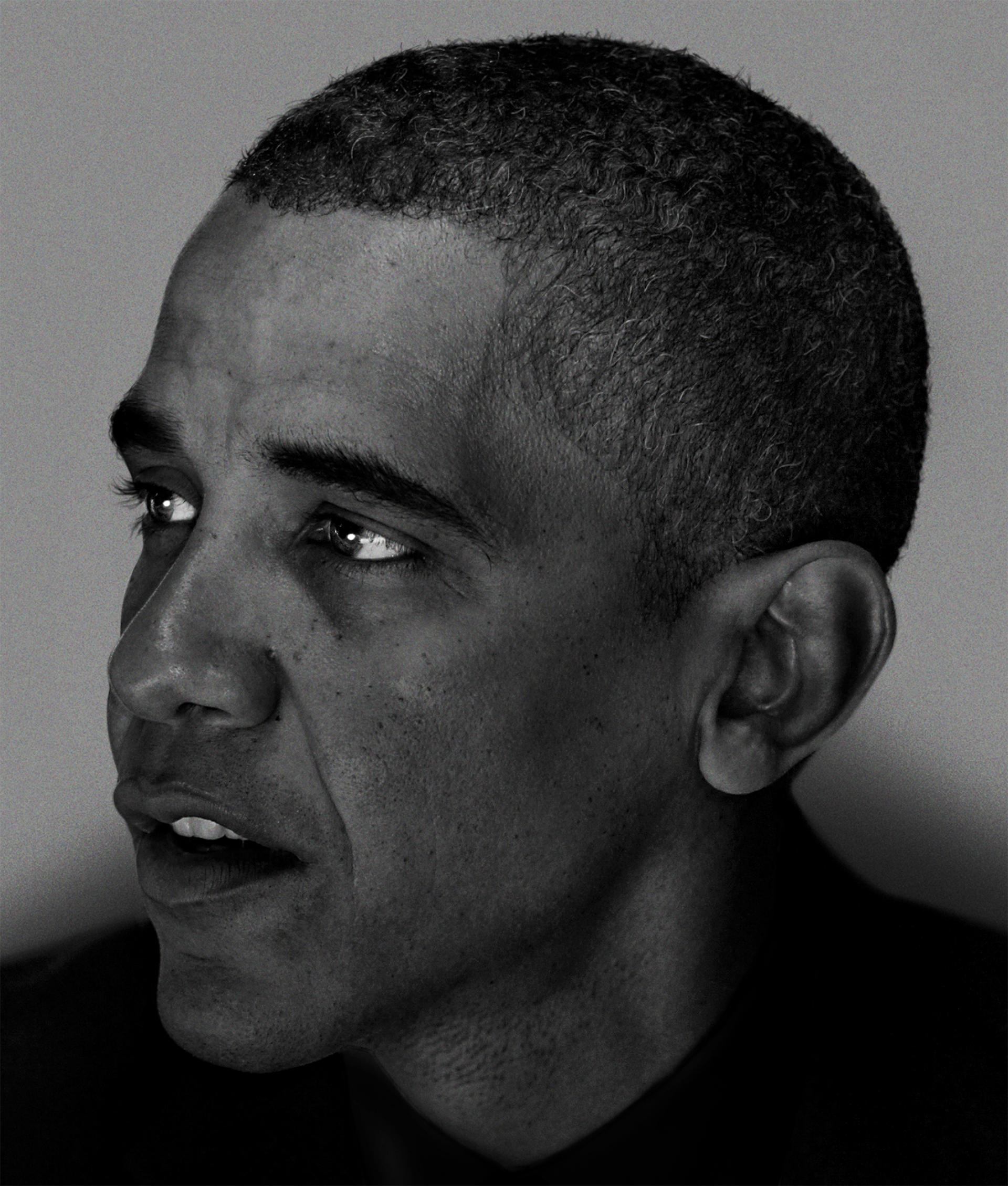 Nadav Kander – Barack Obama