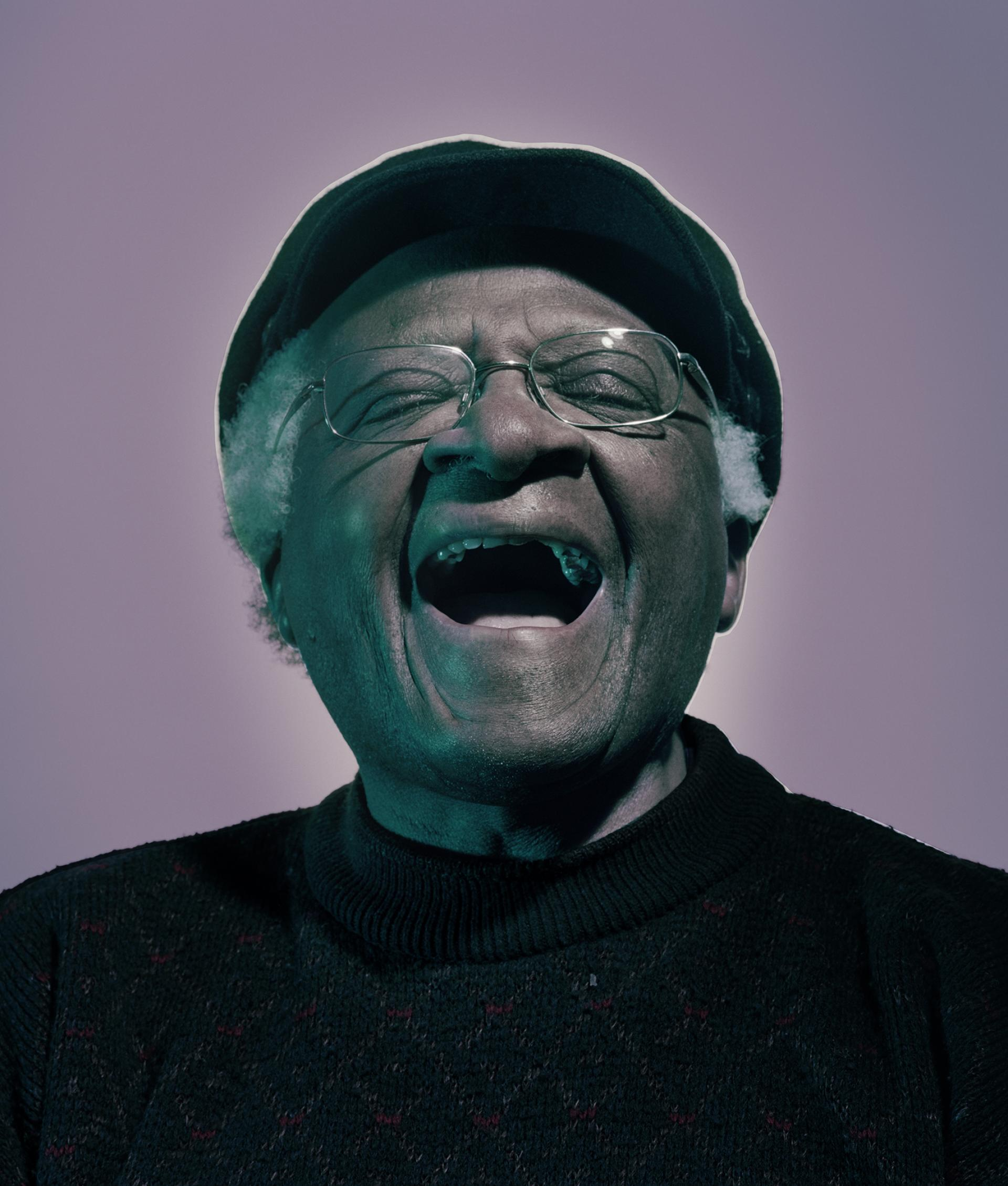 Nadev Kander – Desmond Tutu