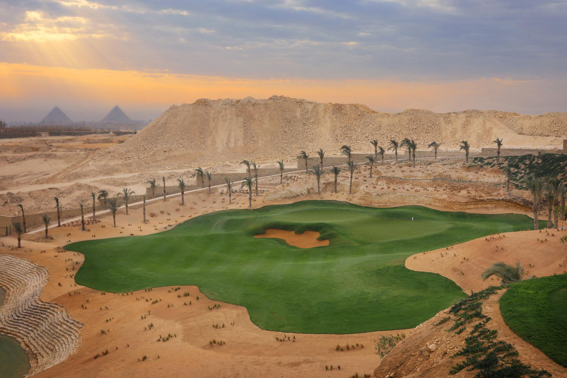 Best New Course, International: New Giza, Egypt