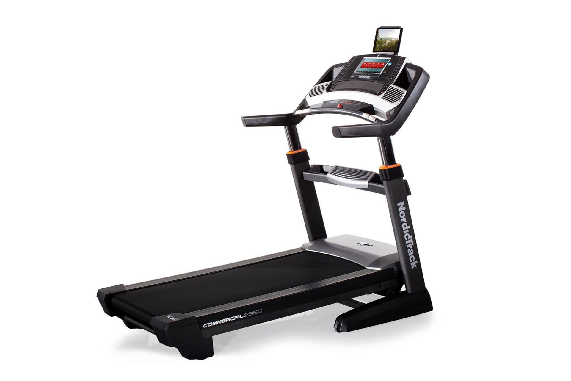 The running machine: Nordic Track