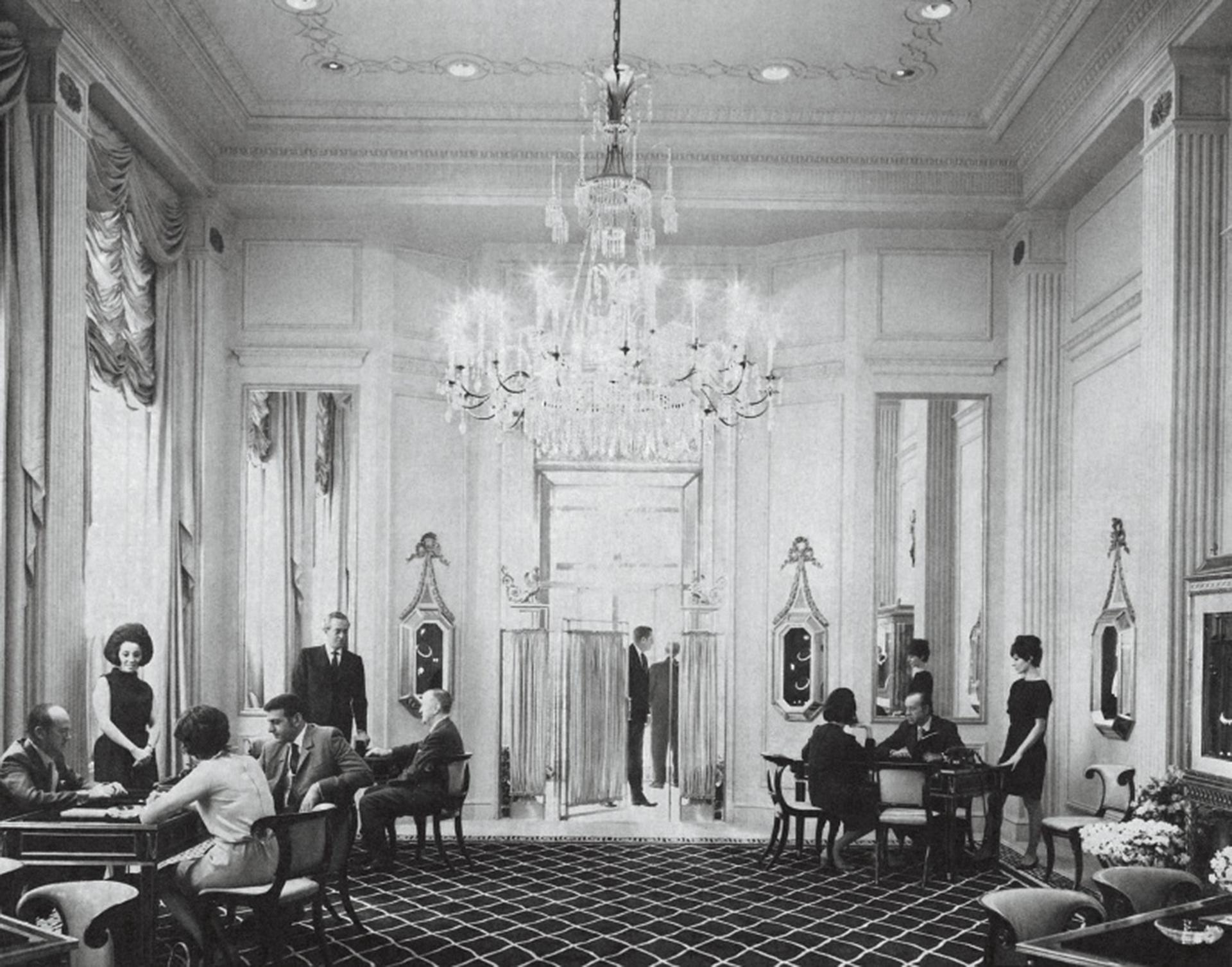Harry Winston's flagship Fifth Avenue store