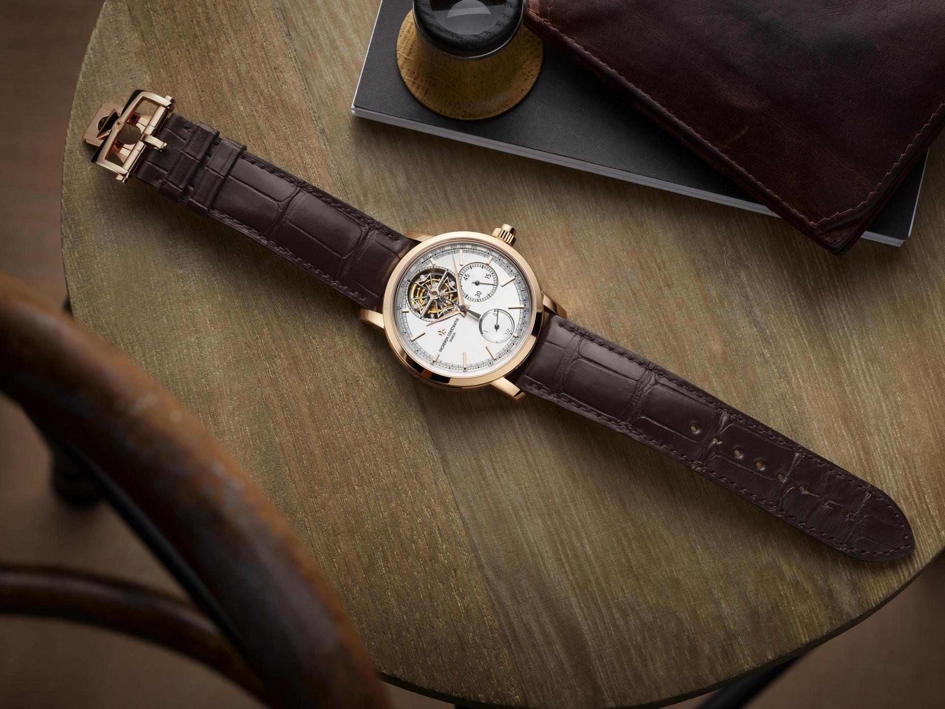 Vacheron Constantin Traditionnelle Tourbillon Chronograph watch
