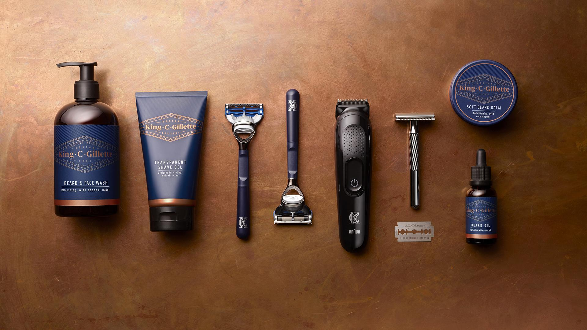King C Gillette Grooming Range