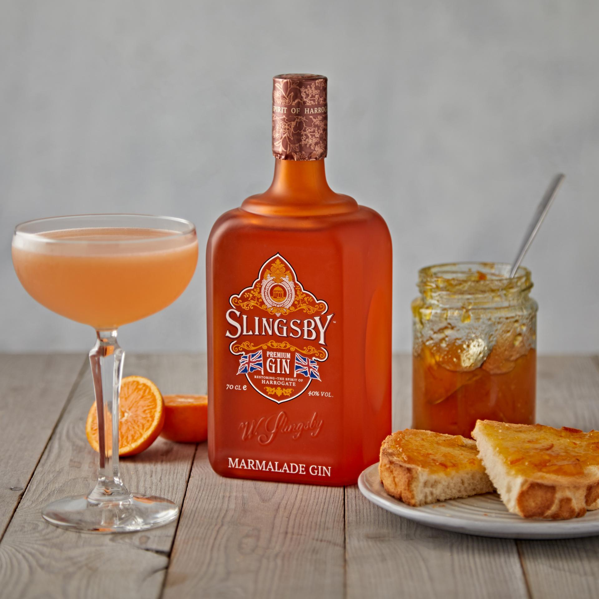 Slingsby – Breakfast Martini