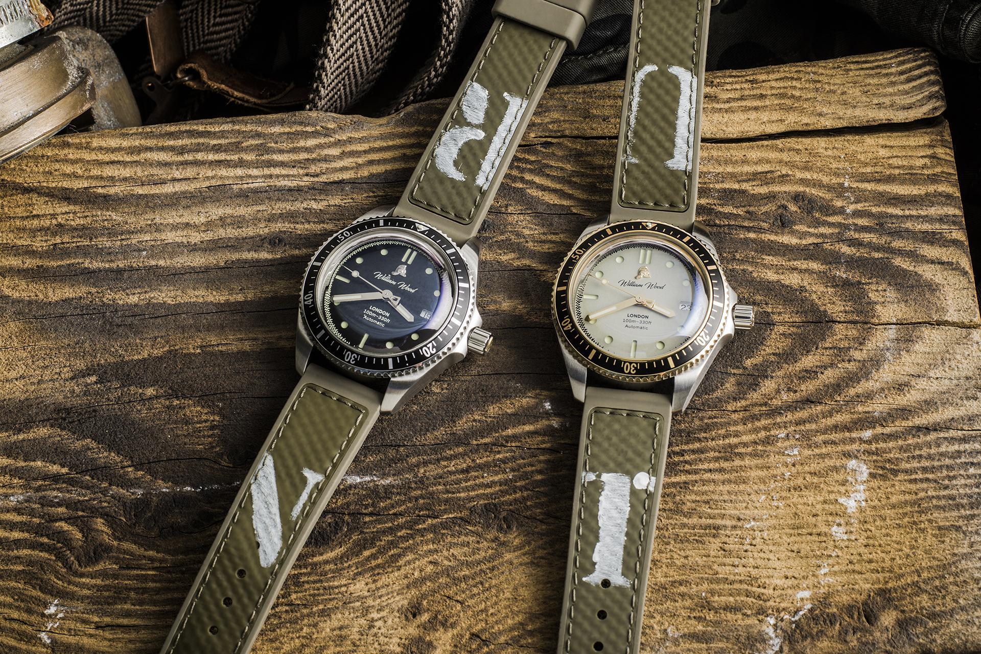 William Wood – Valiant watch range