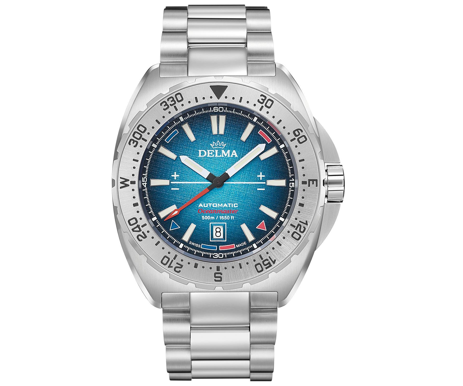 Delma Oceanmaster Antarctica dive watch