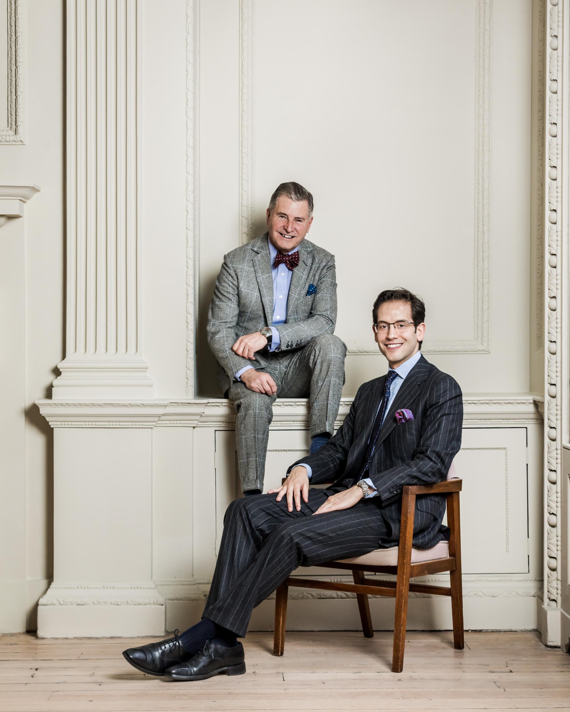 Juan Carlos Benito and Jeremy Hackett