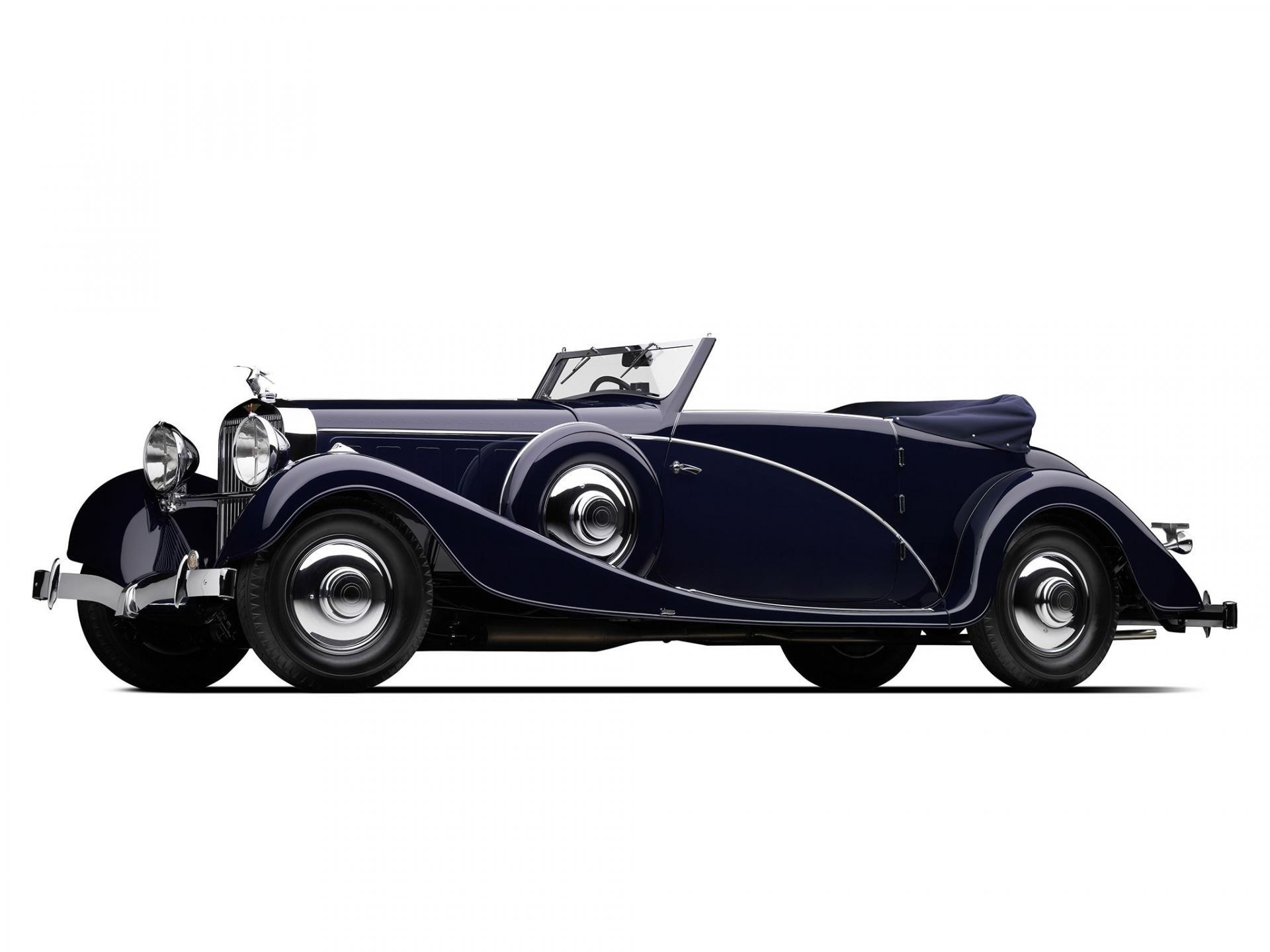1934 Hispano Suiza J12 Vanvooren Cabriolet