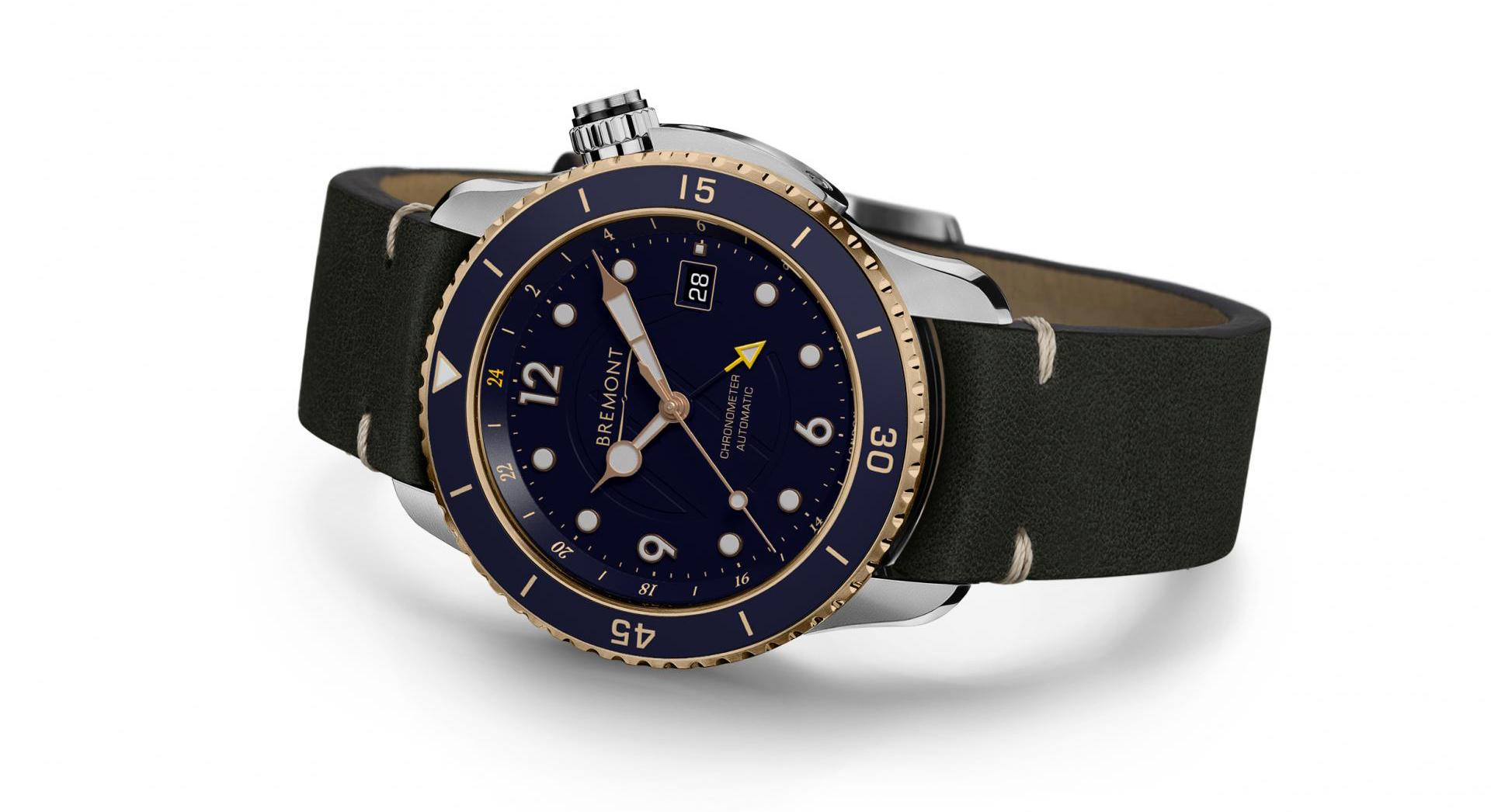 Limited Edition Bremont Project Possible GMT diver watch