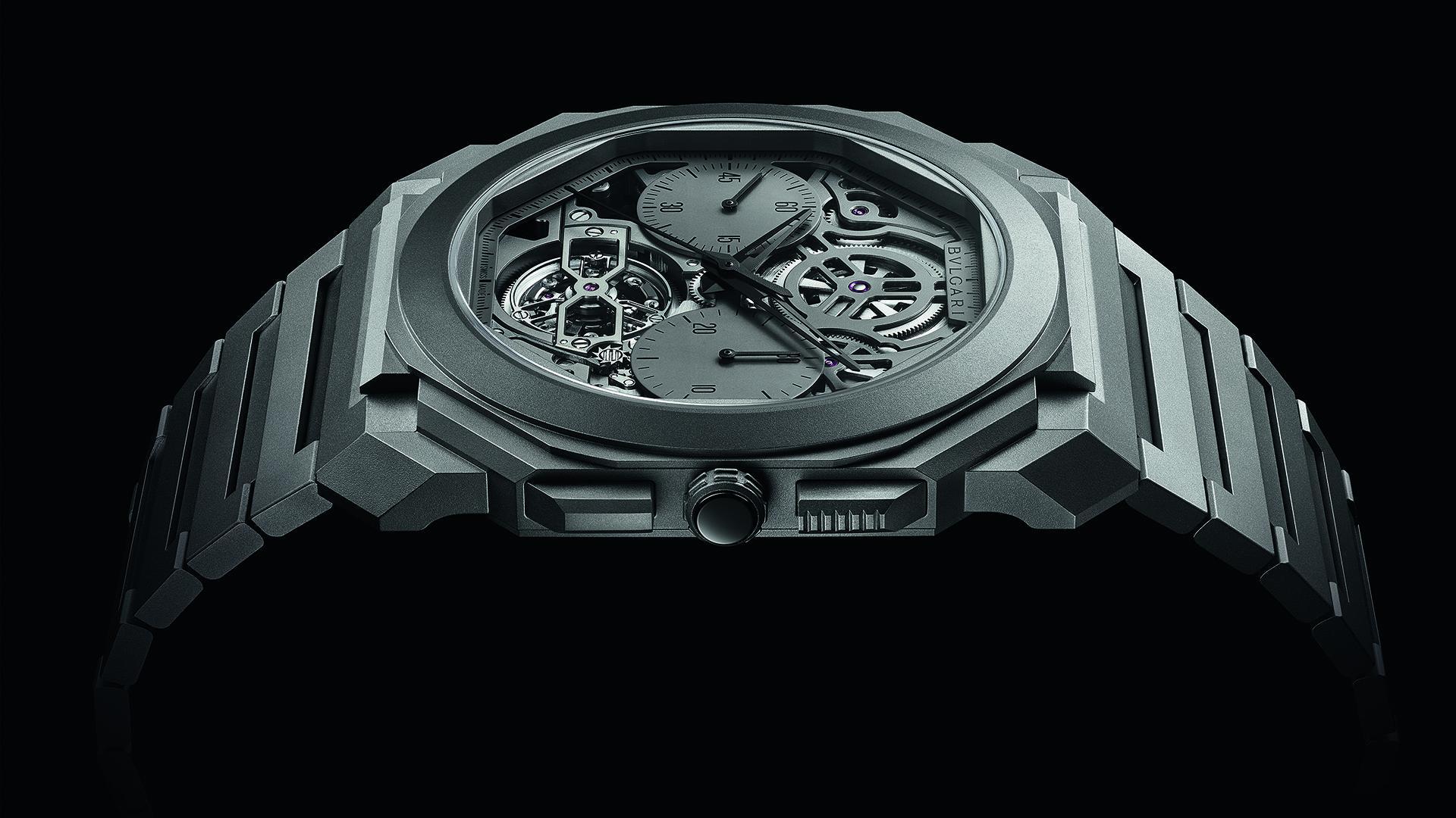 Bulgari Octo Finissimo Tourbillon Chronograph Skeleton Automatic watch
