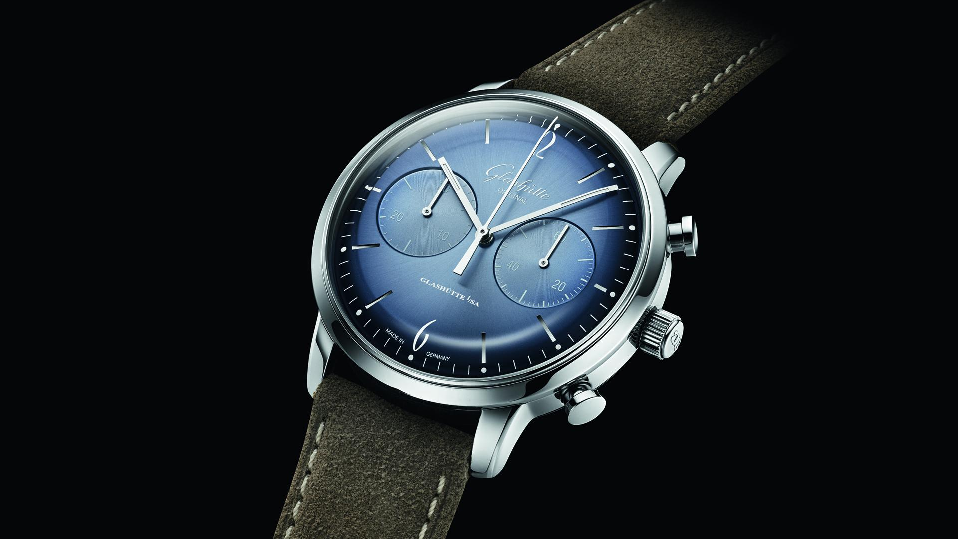 Glashütte Original Sixties Edition Glacier Blue watch
