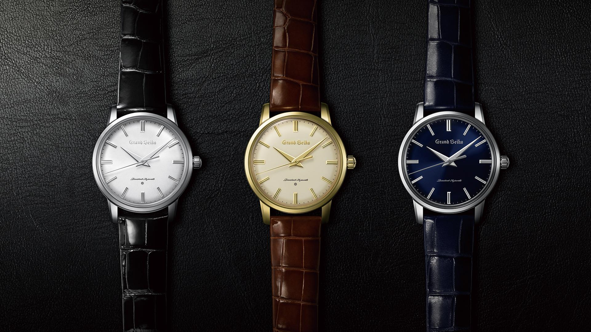 Grand Seiko Re-Creations Of The First Grand Seiko watch collection