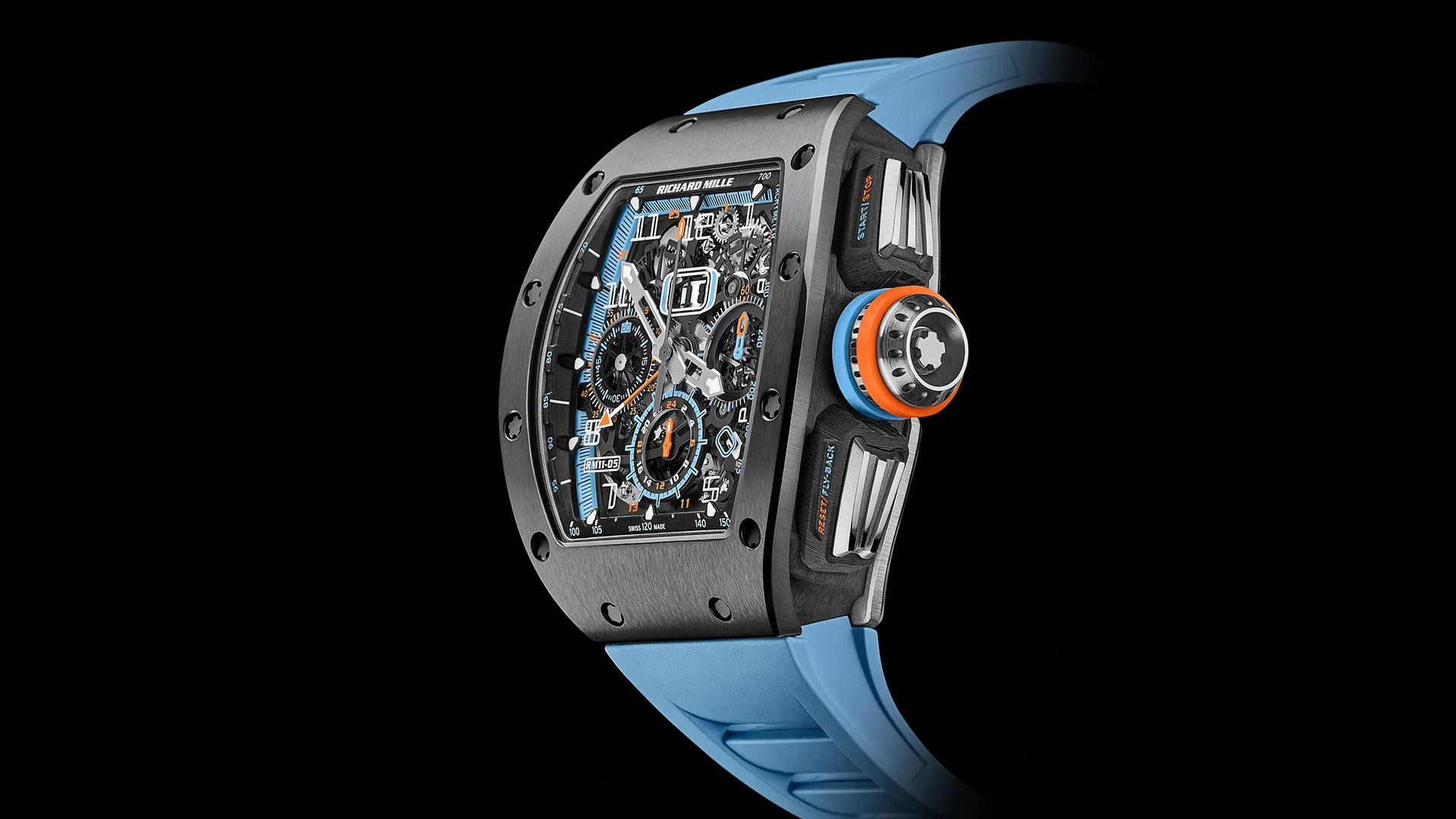 Richard Mille RM 11-05 Automatic Flyback Chronograph GMT watch
