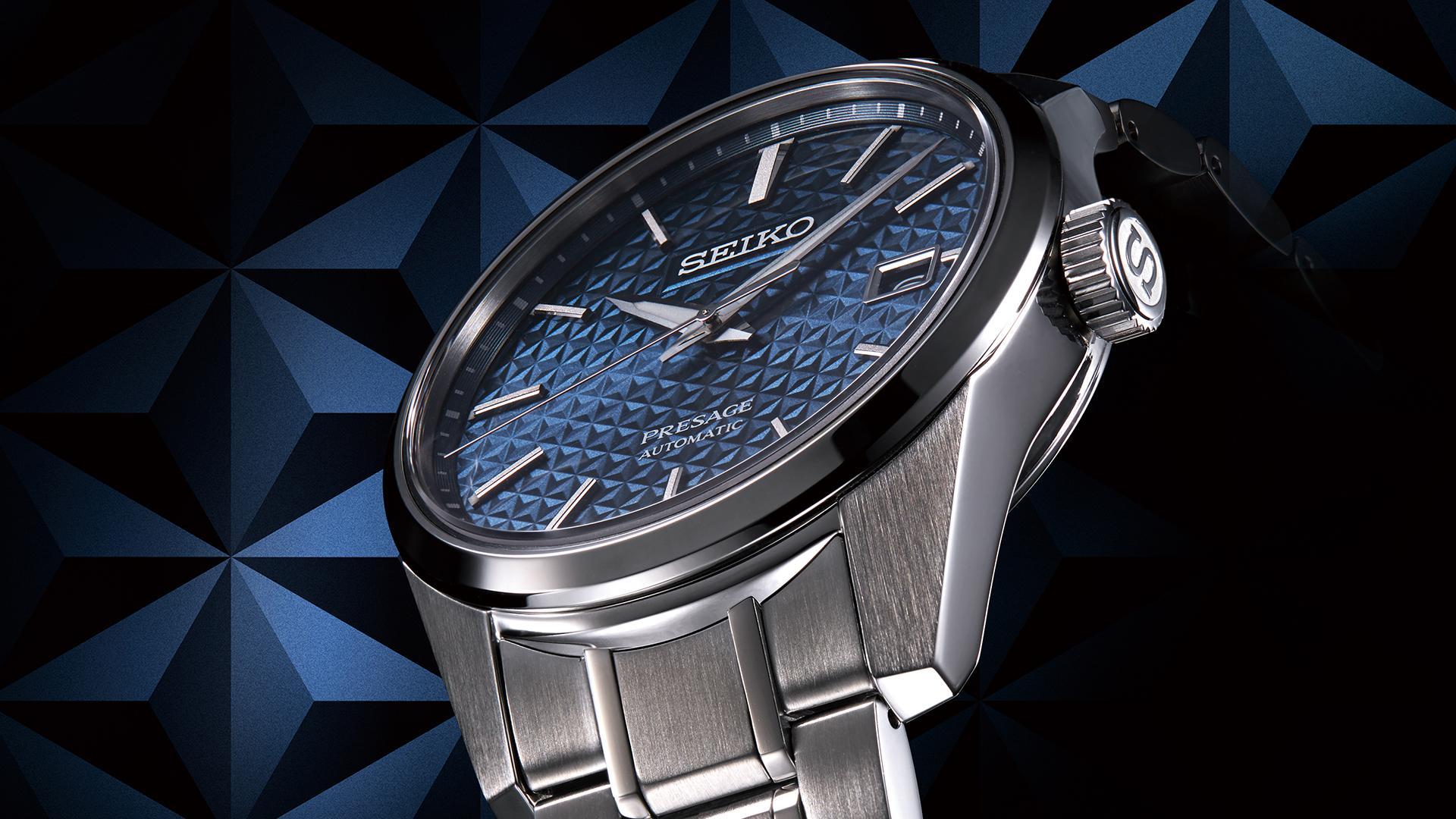 Seiko Presage Sharp Edged watch collection