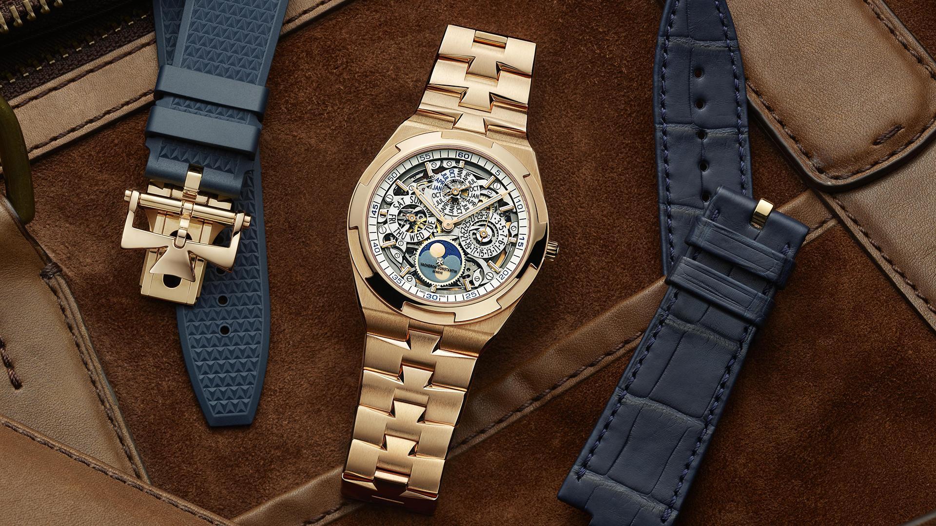 Vacheron Constantin Overseas Perpetual Calendar Ultra-Thin Skeleton watch
