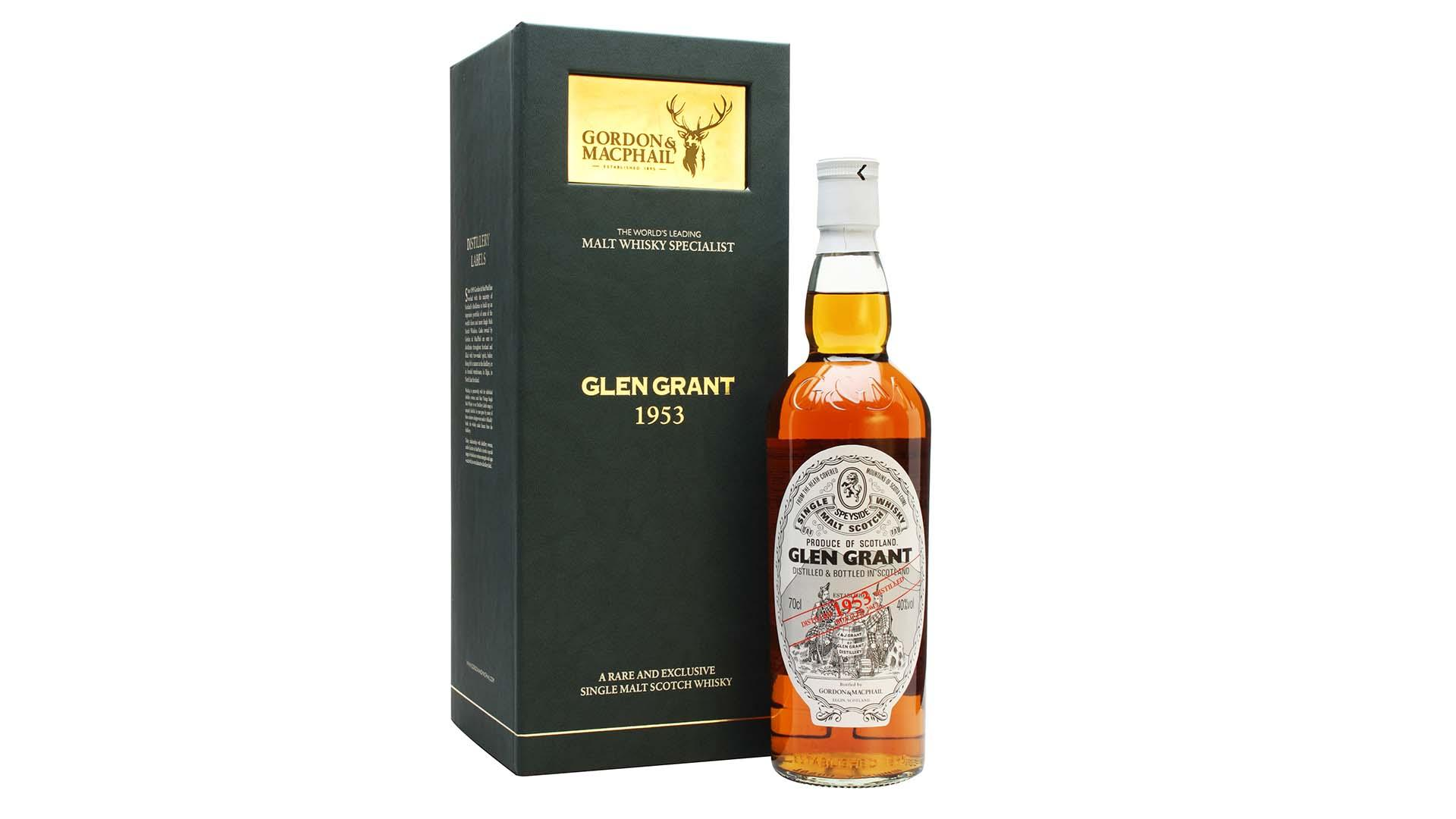 Glen Grant 1953 | 60 Year Old Gordon & Macphail