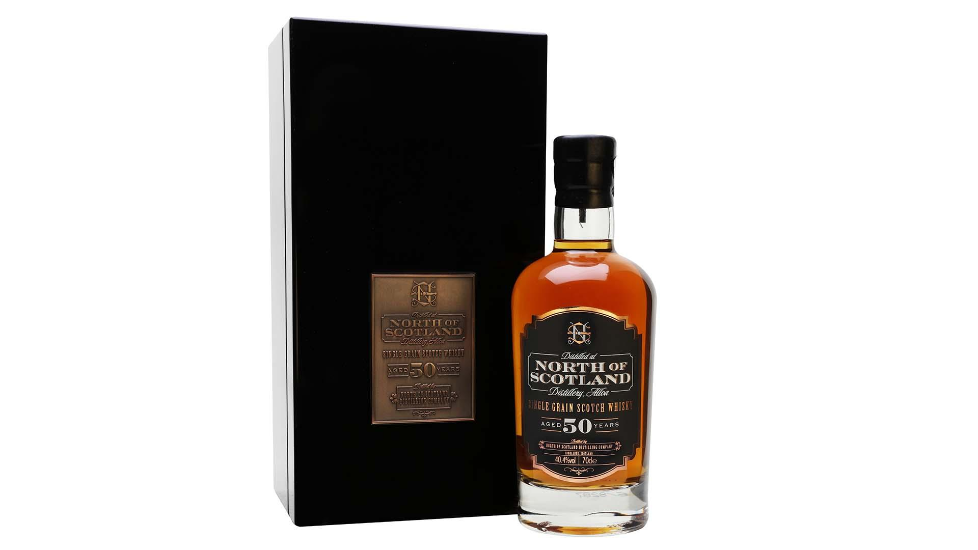 NORTH OF SCOTLAND SINGLE GRAIN SCOTCH WHISKY