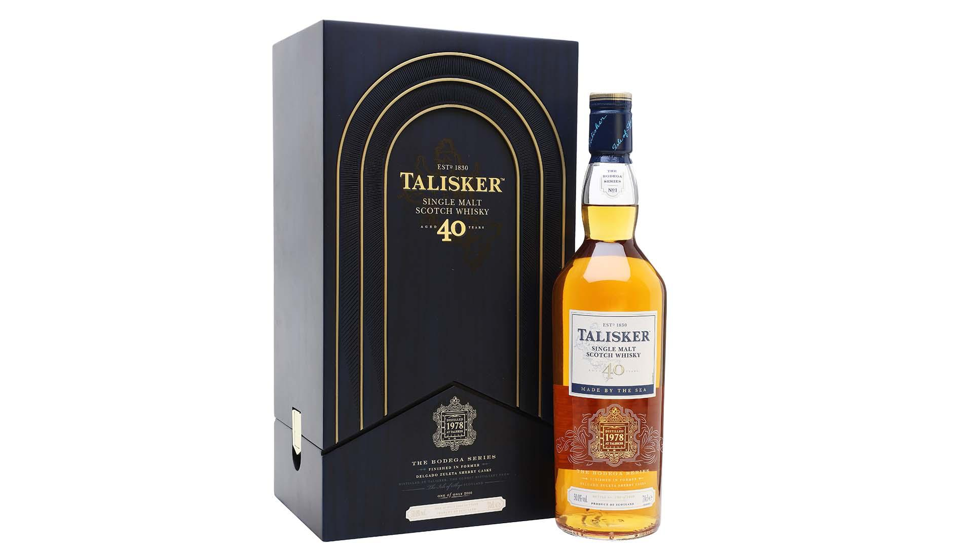 Talisker 1978 | 40 Year Old Bodega Series