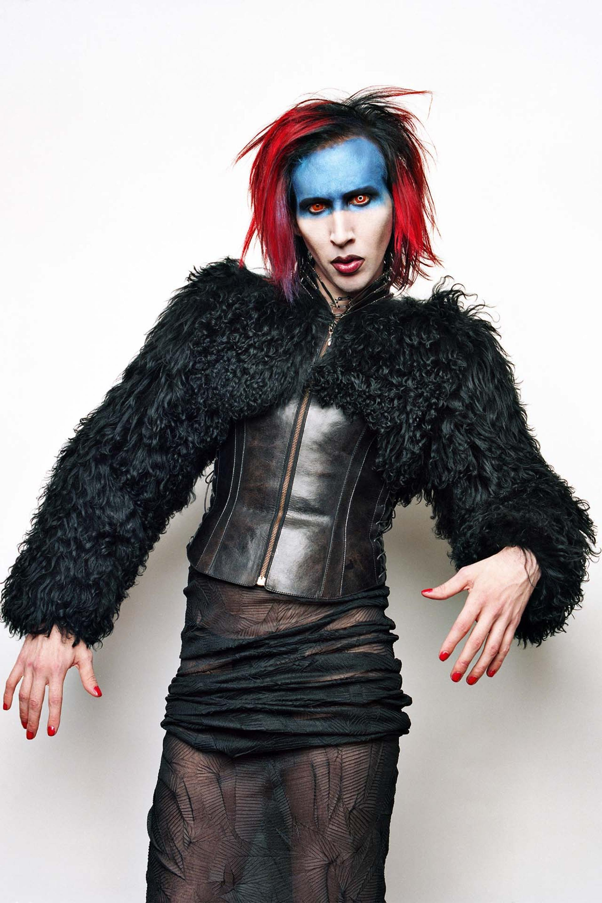 Marilyn Manson photographed by Perou