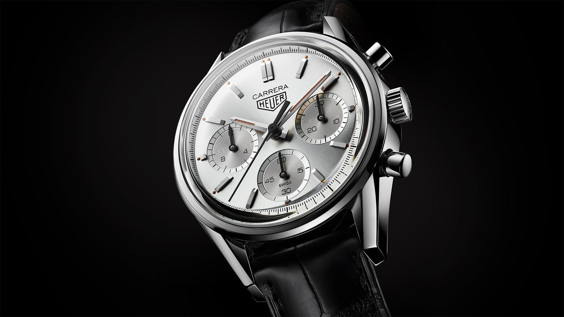 Tag Heuer Carrera 160 Years Silver Limited Edition watch