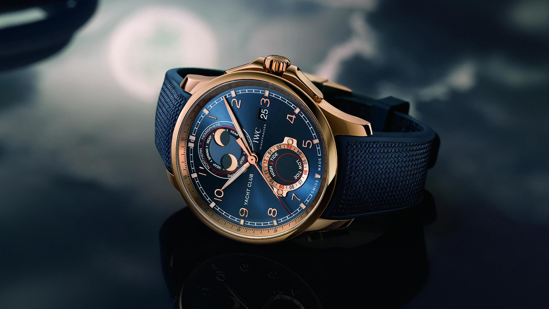 IWC Yacht Club Moon & Tide
