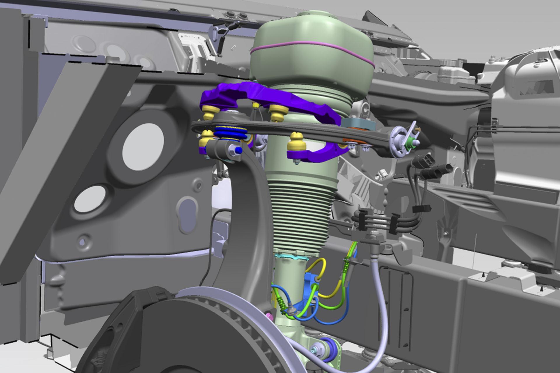 Rolls-Royce Planar Suspension System