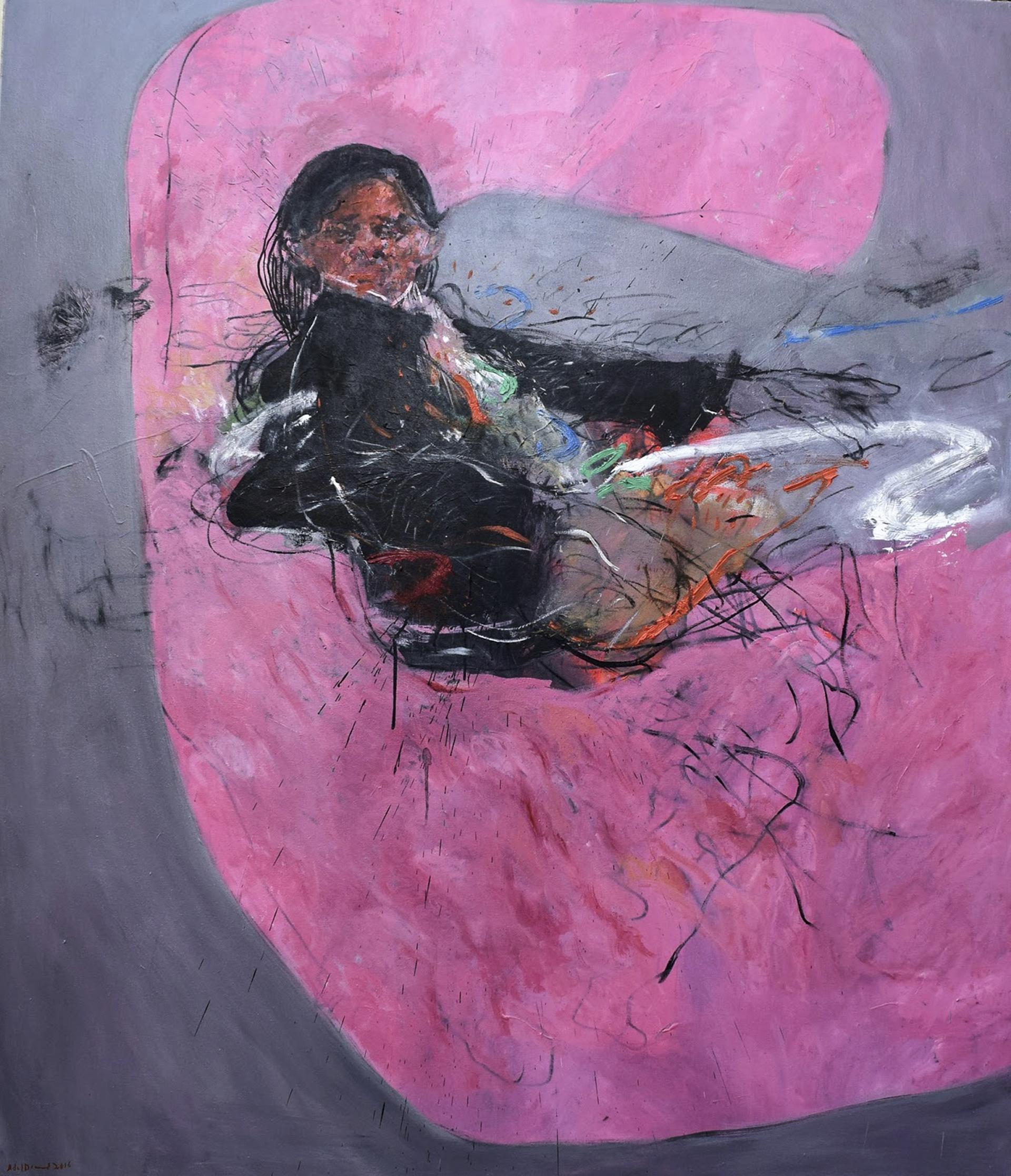 Adel Dahood art work