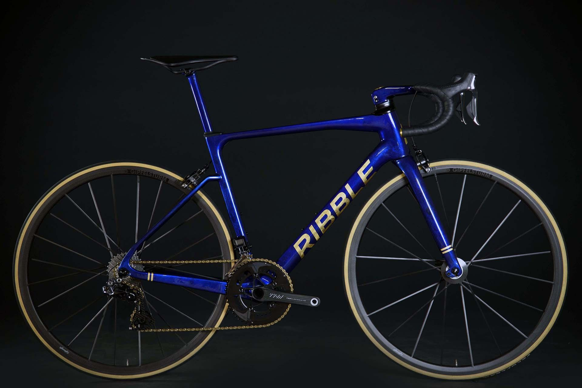 Ribble Endurance SL R with gold leaf
