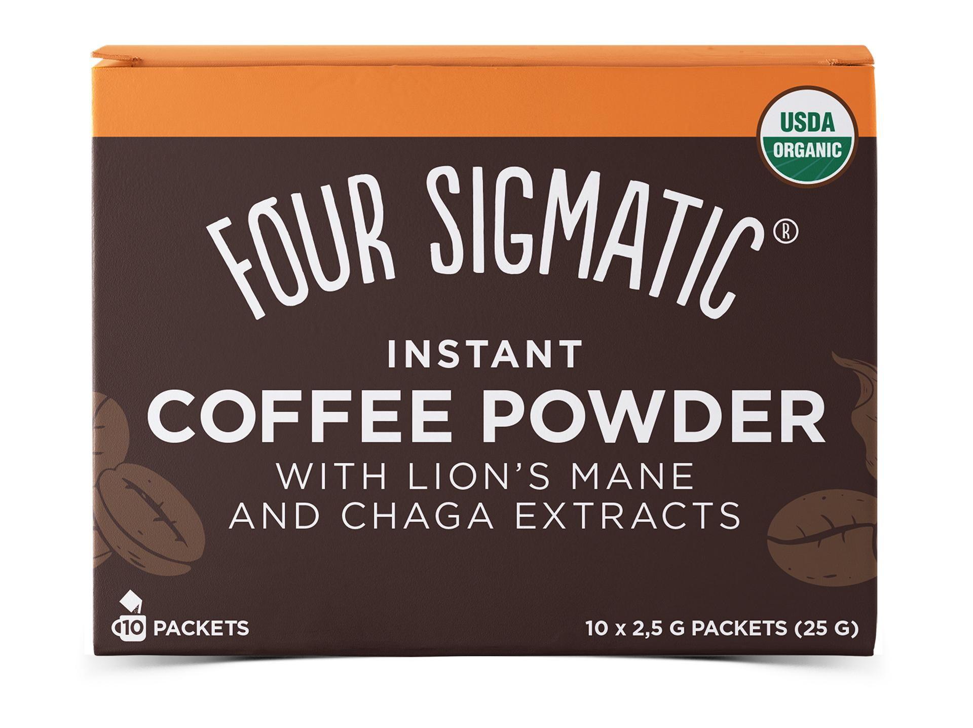 Four Sigmatic coffee powder