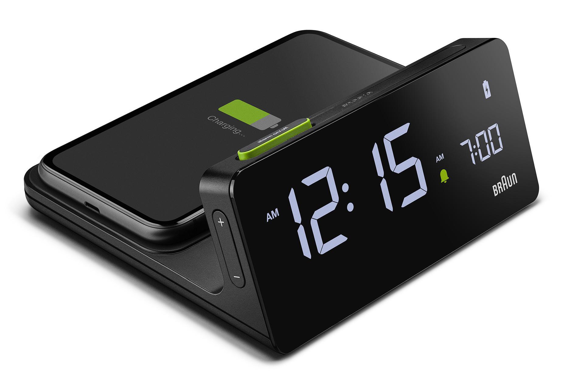 Braun travel clock