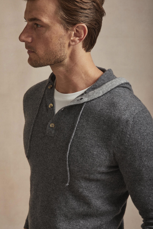 Luca Faloni grey hoodie