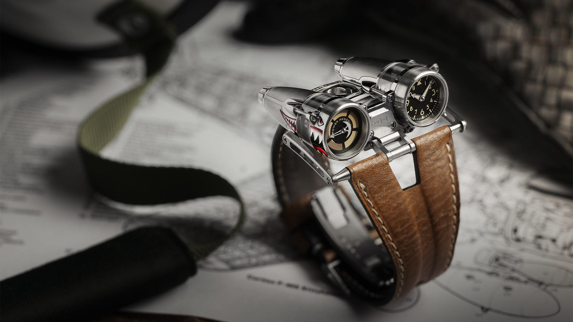 MB&F HM04 'Thunderbolt' watch