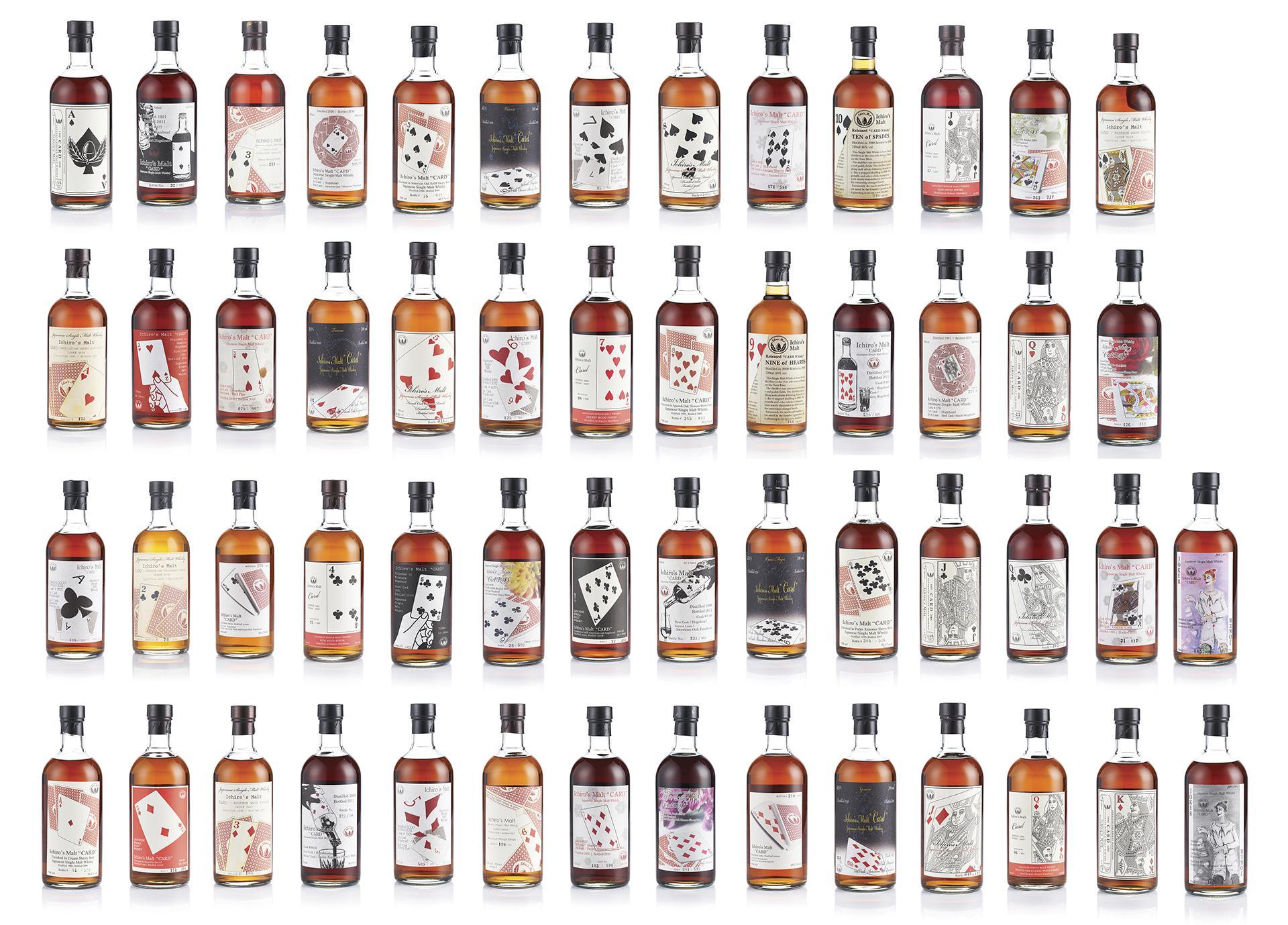 Hanyu Ichiro's Malt Full Cards Series