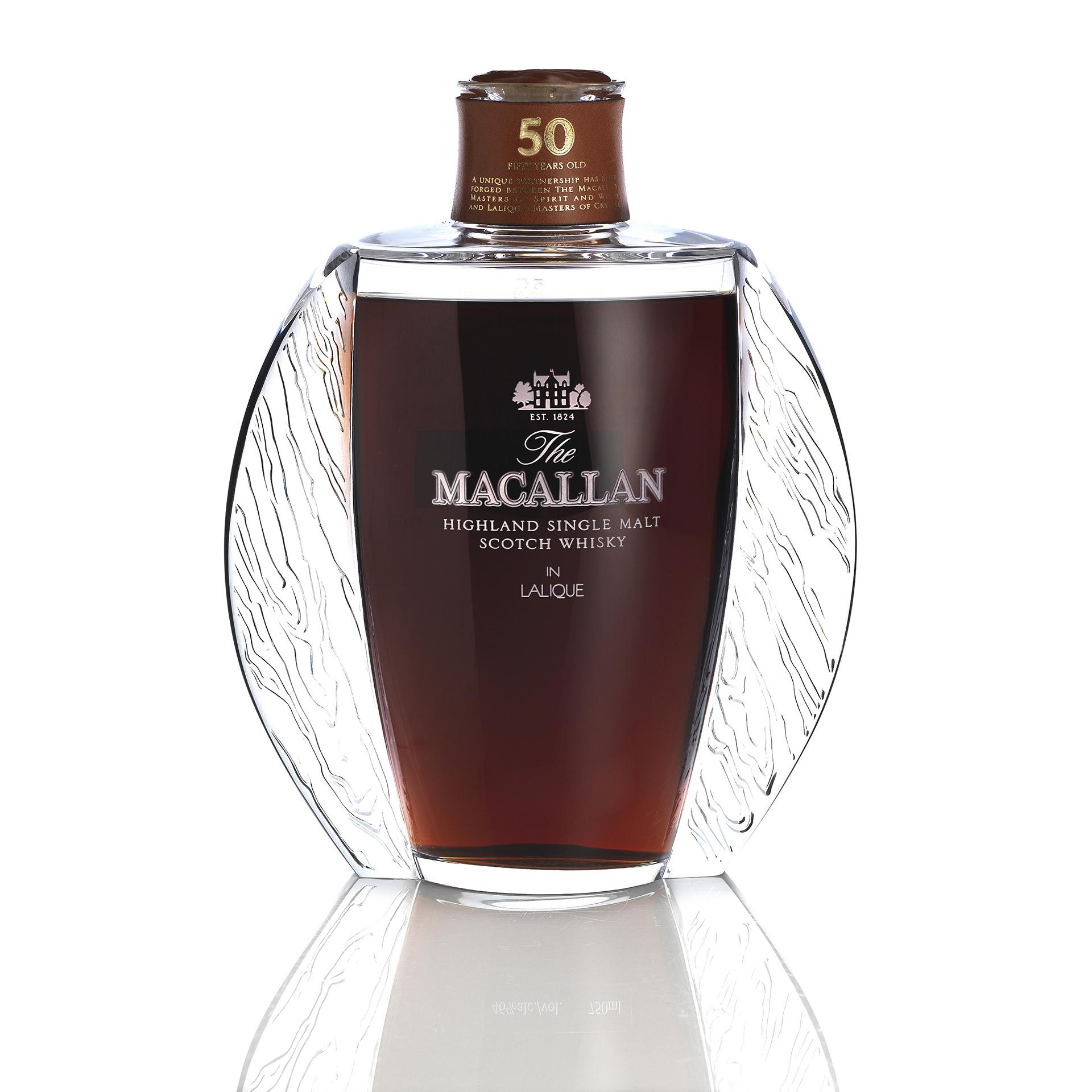 The Macallan Lalique 50 year old