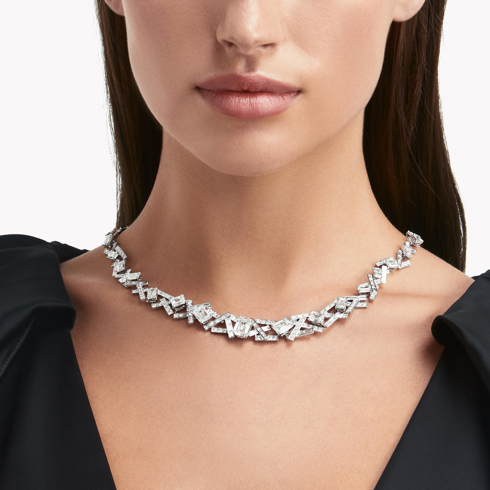 Graff Threads Diamond High Jewellery Necklace in white gold, £590,000