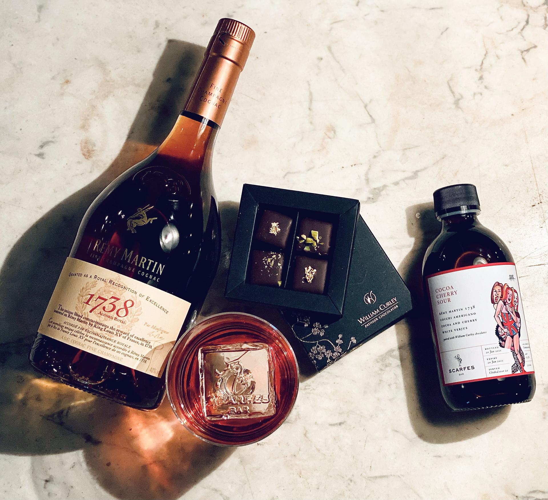 Rémy Martin x Scarfes Bar x William Curley