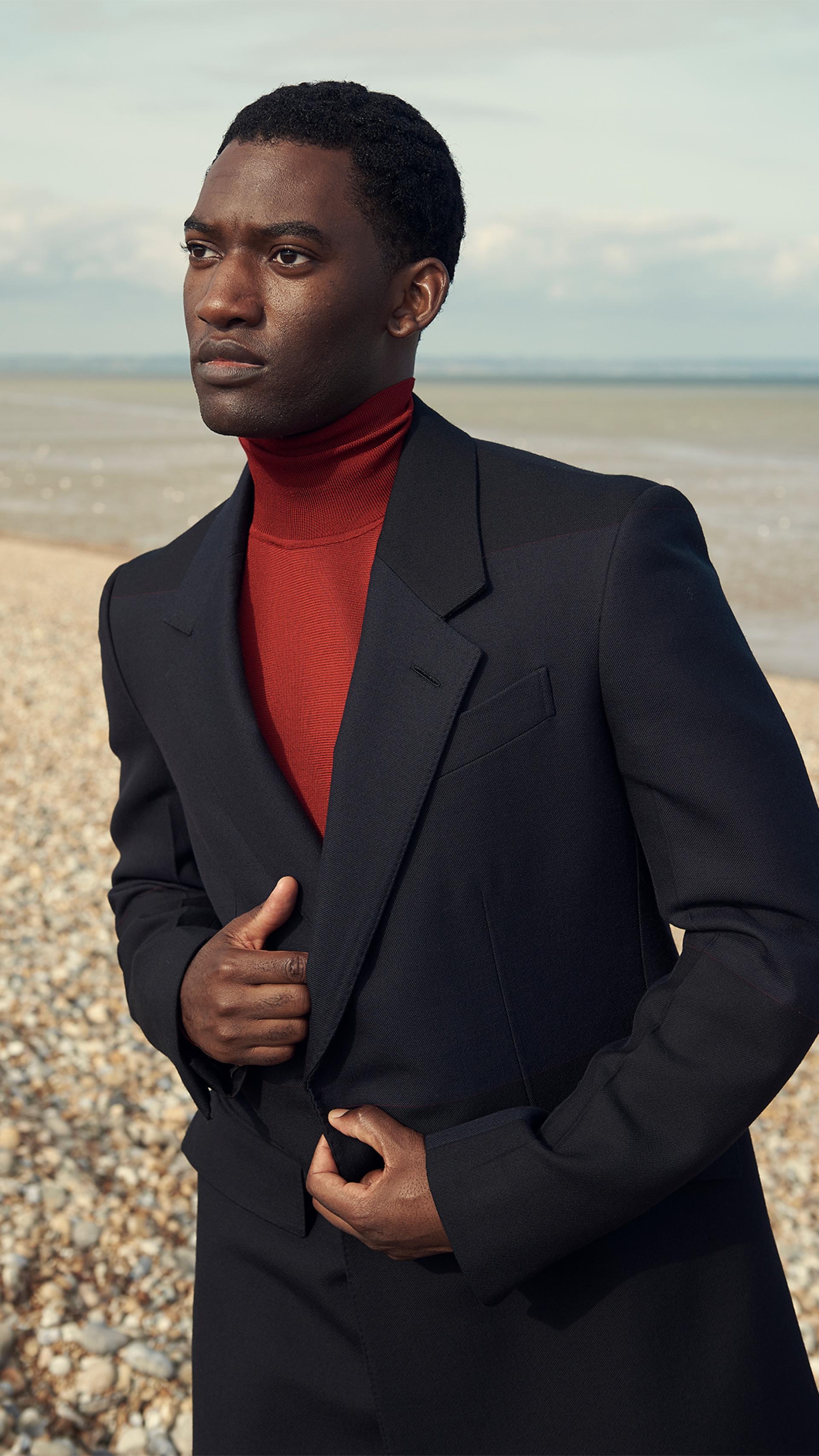 Malachi Kirby photographed Bertie Watson