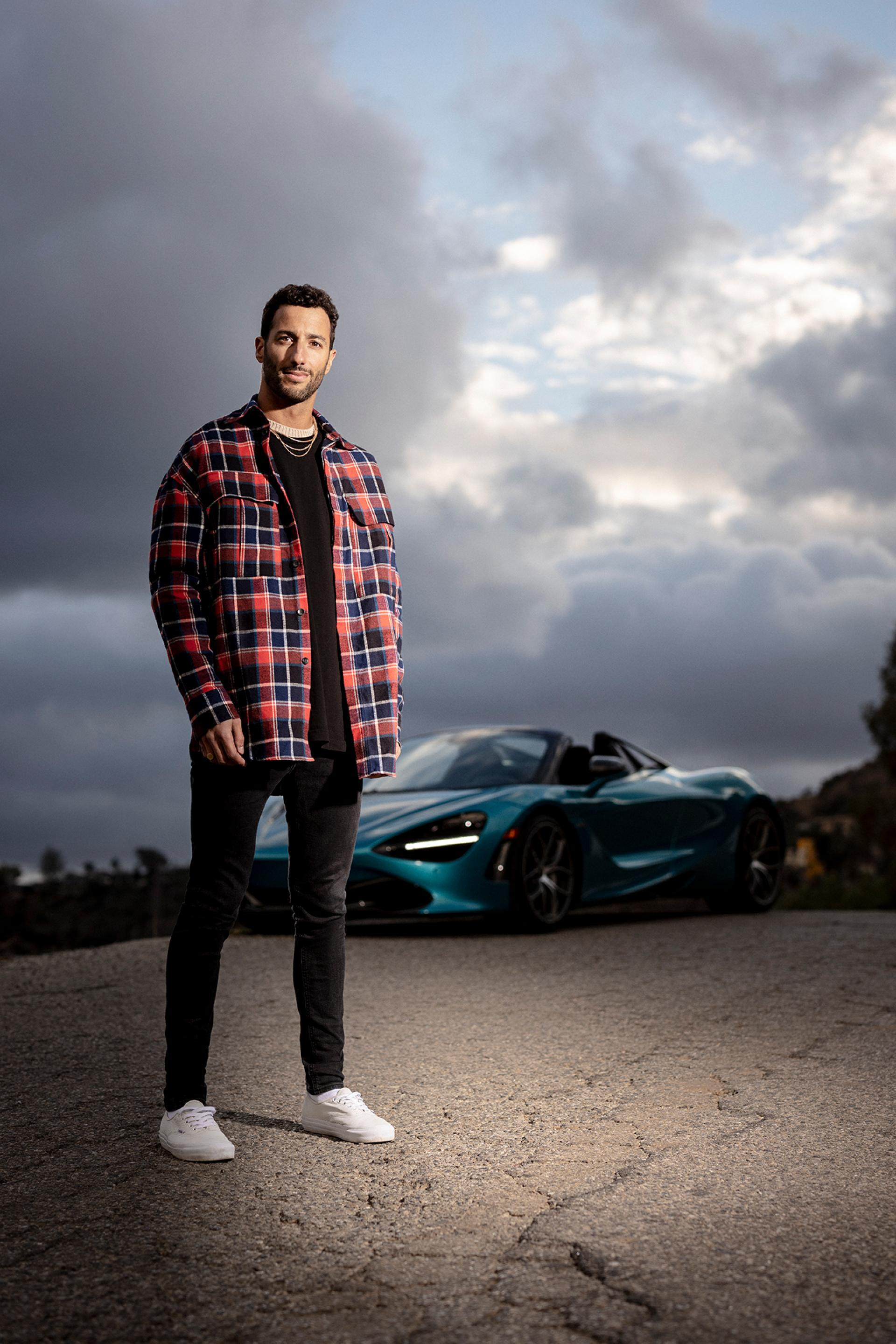 Formula One racing driver Daniel Ricciardo interview