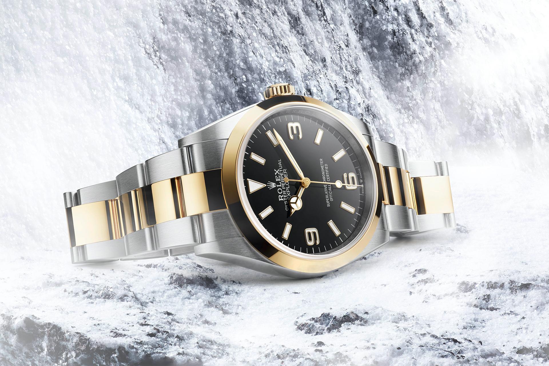 Rolex Explorer 36mm 2021 watch