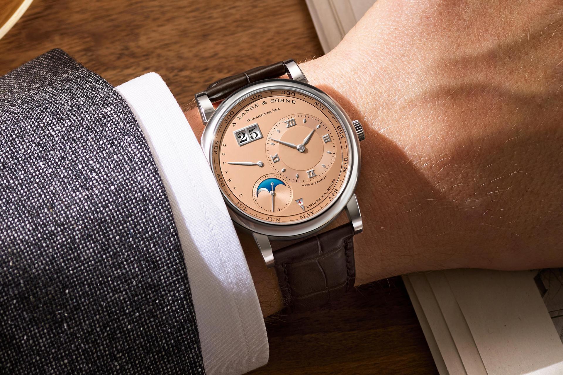A Lange & Söhne Lange 1 Perpetual Calendar watch 2021