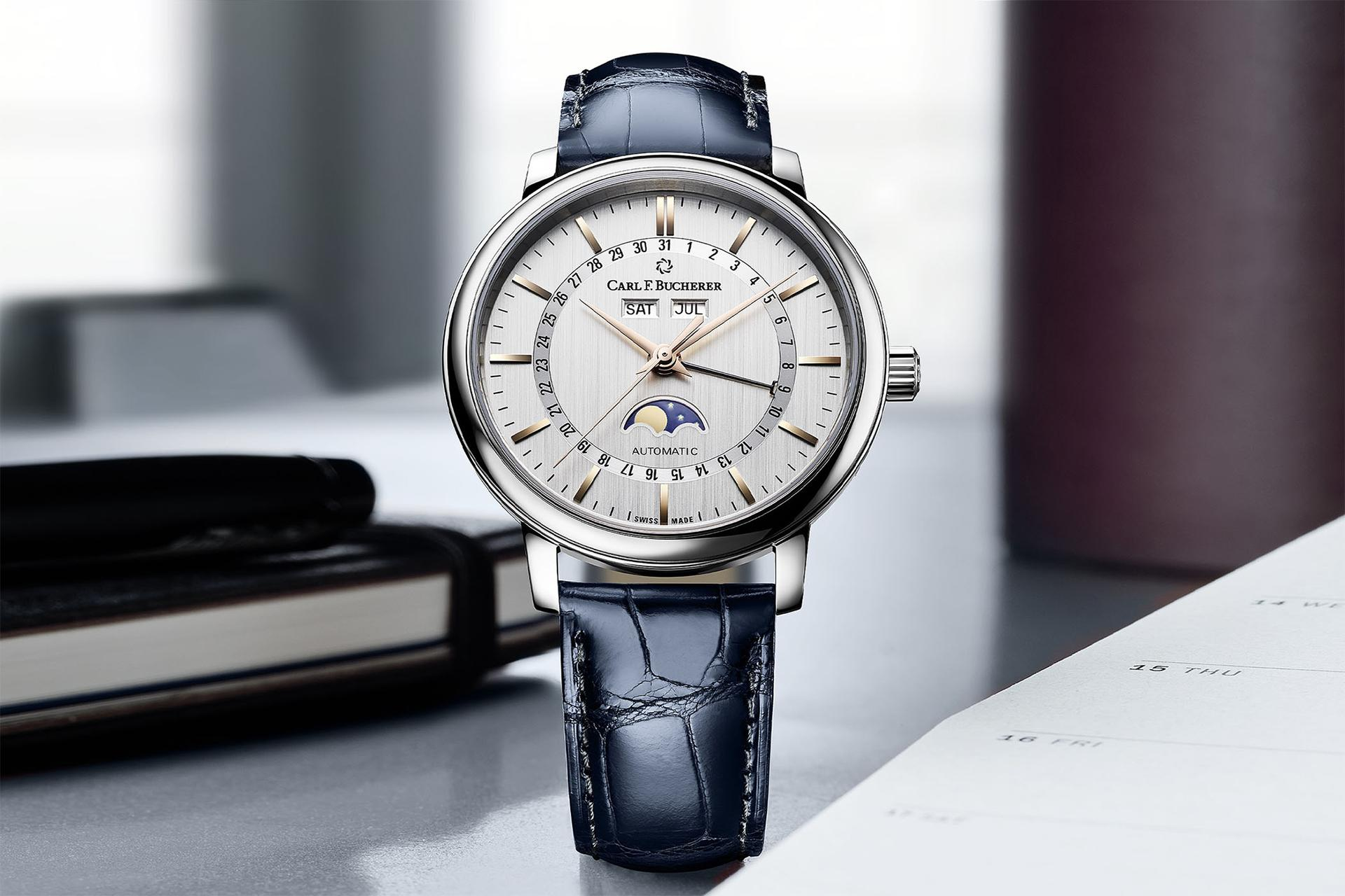 Carl F Bucherer Adamavi Full Calendar watch