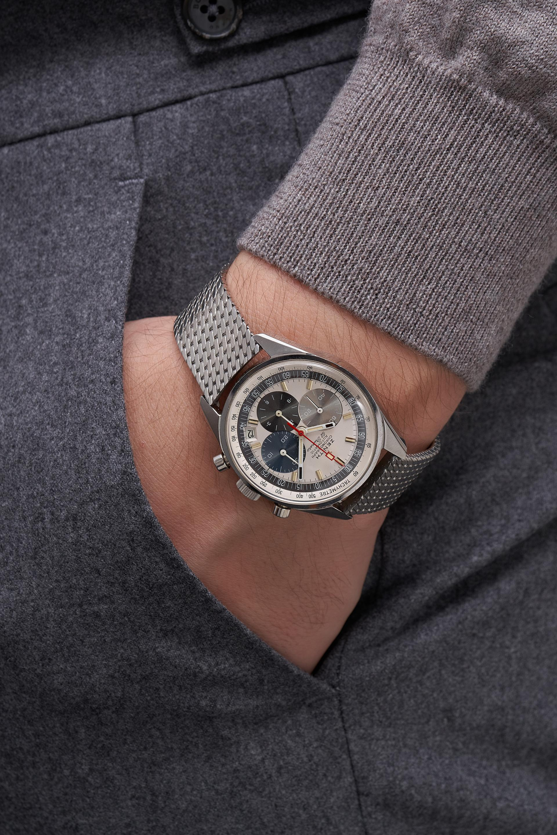 Zenith Ref. A386 watch, Phillips Geneva Watch Auction 2021