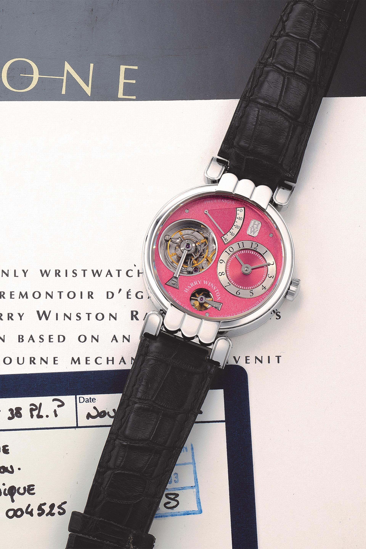 Harry Winston Opus One 'Piece-Unique' watch