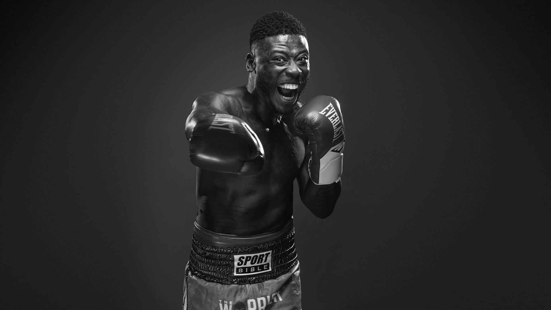 British boxers: Isaac Chamberlain