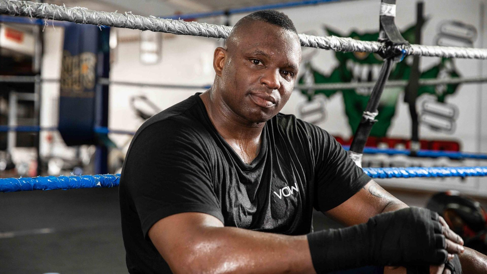 British boxers: Dillian Whyte
